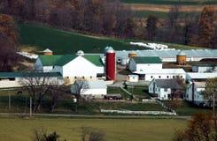 Amish Farm. Landscape of an Amish farm located in Charm, Ohio (USA Stock Photo