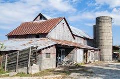 Amish barn Stock Photo