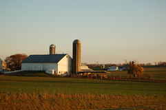 Amish Farm Royalty Free Stock Images