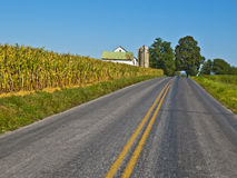 Amish Farm, Lancaster USA Stock Photo