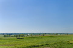 Amish Farm Landscape Royalty Free Stock Photo