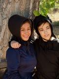 Amish Girls Royalty Free Stock Photo