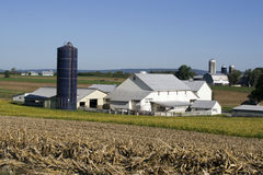amish gospodarstwa rolnego dom zdjęcie stock