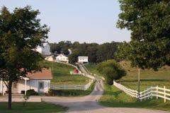 amish gospodarstwo rolne fotografia royalty free