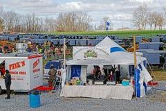 Amish gyttja Sale för brandföretag Royaltyfria Foton
