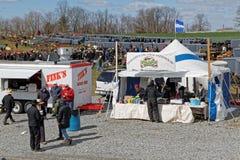 Amish gyttja Sale för brandföretag Royaltyfri Foto