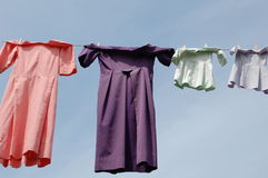 Amish Laundry Stock Images