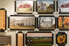 Amish market store royalty free stock images