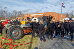 Amish Mud Sale to Benefit the Fire Company Stock Photography