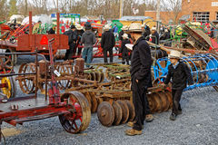 Amish Mud Sale to Benefit the Fire Company Royalty Free Stock Photos