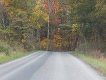 Amish popierają drogi obraz stock