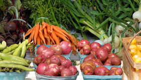 Amish produce Stock Images