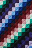 Amish Quilt Pattern closeup Royalty Free Stock Photo