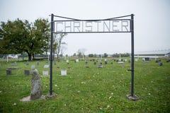 Amish społeczność rolników Obraz Royalty Free