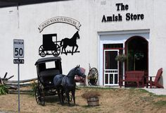 Amish Store in Balderson Royalty Free Stock Photography