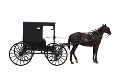 Amish transport Stock Photo