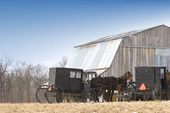 Amish transportation Royalty Free Stock Photos
