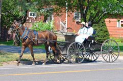 Amish Travel Royalty Free Stock Image