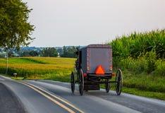 amish vagn Arkivbild
