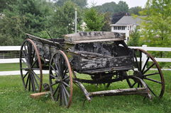 Amish Village in Pennsylvania Stock Images