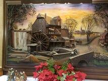 Amishkunstwerk stock foto