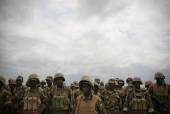 AMISOM Force Commander tours Afgoye Corridor 07 Stock Photography