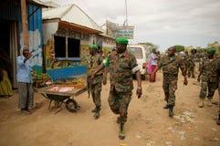 AMISOM Force Commander tours Afgoye Corridor 13 Stock Photo