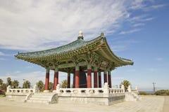 Amistad coreana Bell en parque de la puerta de los ángeles en San Pedro, California foto de archivo