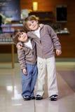 Amistad de hermanos Fotografía de archivo libre de regalías