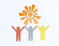 Amistad y concepto de la paz Foto de archivo libre de regalías