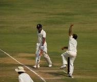 Amit Mishra bowler Royalty Free Stock Photos