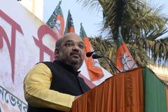 Amit Shah dans le rassemblement d'Uthan Diwas Image stock