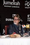 Amitabh Bachchan dans DIFF répondant à la presse Image libre de droits