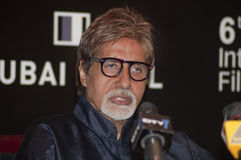 Amitabh Bachchan the greatest actor. The titan of Indian cinema, Amitabh Bachchan in town to receive a lifetime achievement award from DIFF, seen here during Stock Photo
