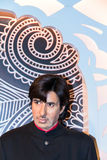 Amitabh Bachchan in Madame Tussaud wax museum. London. UK Royalty Free Stock Images