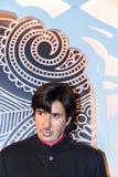 Amitabh Bachchan nel museo della cera di signora Tussaud Londra Il Regno Unito Immagini Stock Libere da Diritti