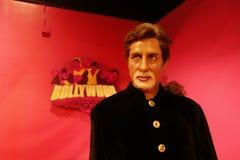 Amitabh Bachchan Wax Figure Images libres de droits