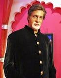 Amitabh Bachchan Waxdiagram royaltyfria bilder