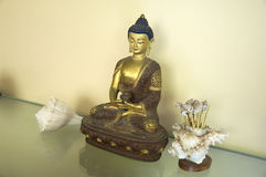 Amitabha菩萨七 免版税库存照片