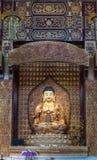 Amitabha Bouddha dans le tombeau principal chez sa Lai Buddhist Temple, Calif Photos libres de droits