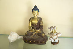 Amitabha Buddha Nine Royalty Free Stock Photo