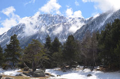 Amitges Road Aigüestortes National Park Royalty Free Stock Photography