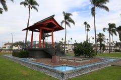 Amitié Bell de Yokohama en île d'abri à San Diego, la Californie Photos stock
