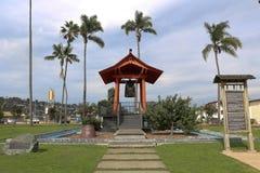 Amitié Bell de Yokohama en île d'abri à San Diego, la Californie Image libre de droits