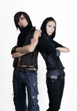 Amitié d'adolescent Image stock