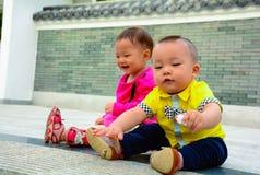 Amitié d'enfance Images libres de droits