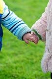 Amitié d'enfants Photographie stock libre de droits