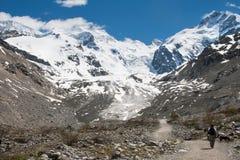 Amitié dans la montagne Photos stock