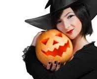 Amitié de Halloween Photographie stock libre de droits