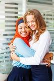 Amitié de religions Photographie stock libre de droits